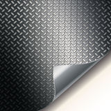 Fluted metal texture. Illustration for your design Stock Images