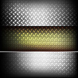 Fluted metal texture. Illustration for your design Royalty Free Stock Photography