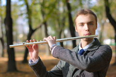 Flutist Royalty Free Stock Photos