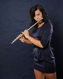 Flutist Stock Photo