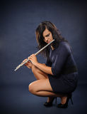 Flutist Royalty Free Stock Photo
