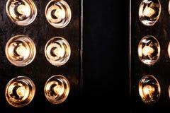Flutlicht-Blitzlichter scheinwerfer Lizenzfreies Stockfoto