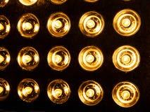 Flutlicht-Blitzlichter scheinwerfer Stockbilder