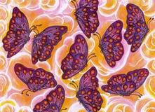 Flutterbyes Photos libres de droits