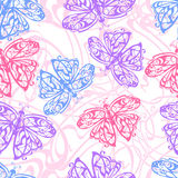 Fluttering butterfly 1 Royalty Free Stock Photography
