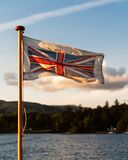 Fluttering & Glorious Union Flag stock image