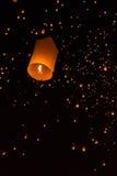 Flutuação no céu Fotografia de Stock Royalty Free