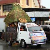 Flutuador da parada de Rote - Nusa Tengara Timur imagem de stock