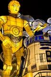 Flutuador da parada de Star Wars Nebuta fotografia de stock royalty free
