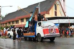Flutuador da parada de Toraja - Sulawesi Selatan fotos de stock royalty free