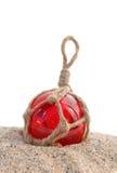 Flutuador decorativo vermelho imagem de stock