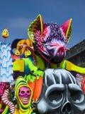 Flutuador do carnaval fotografia de stock