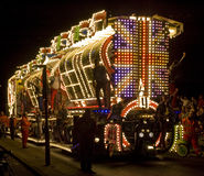 Flutuador do carnaval de Bridgewater imagens de stock royalty free