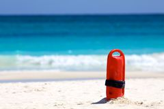 Flutuador do Lifeguard imagem de stock royalty free