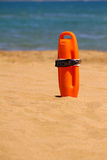 Flutuador do Lifeguard imagens de stock royalty free
