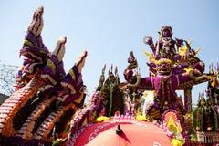 Flutuador floral na procissão sobre Fotos de Stock Royalty Free