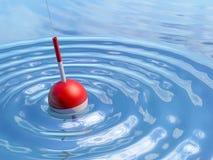Flutuador na água ilustração do vetor