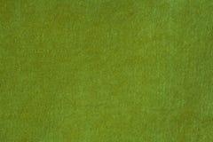 Fluweel en Luxe Groene Doek Royalty-vrije Stock Foto's
