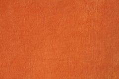 Fluweel & Luxe Oranje Doek Stock Foto