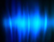 Flux bleus profonds d'océan Photos stock