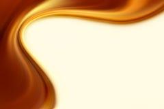 Flux de Brown illustration stock