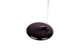 Flux de chocolat Photographie stock