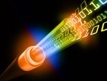 Flux de données binaires illustration libre de droits