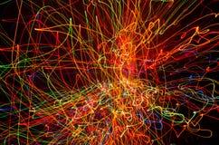 Flux de données - coloré images libres de droits