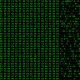Flux de données d'ordinateur Photos libres de droits