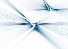 flux de données de transmission de code binaire Images libres de droits