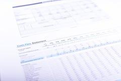 Flux de liquidités Photographie stock libre de droits