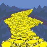 Flux de liquidités d'image photos stock