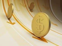 Flux de liquidités de financement Image libre de droits