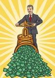 Flux de liquidités de financement Images stock