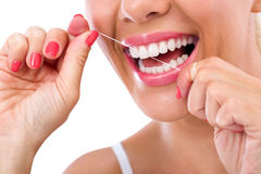 Flux dentaire Photo stock