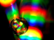 Flux liquide de couleur Photos stock