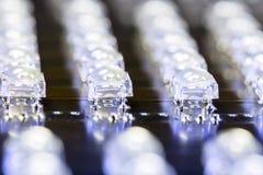 FLUX superbe de LED Photographie stock libre de droits
