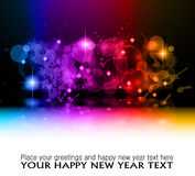Fluxo abstrato do arco-íris da energia Imagem de Stock