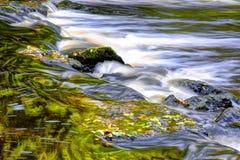 Fluxo bonito e pedras do rio Foto de Stock Royalty Free