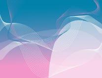 Fluxo cor-de-rosa ilustração stock
