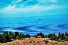 Fluxo da maré baixa Foto de Stock Royalty Free
