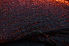 fluxo da superfície da lava imagens de stock royalty free