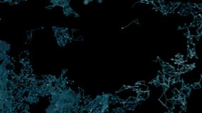 Fluxo de dados da rede video estoque