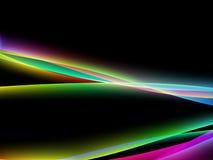 Fluxo de Dinamyc, ondas estilizados, vetor Imagem de Stock