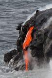 Fluxo de lava imagens de stock