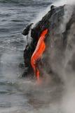 Fluxo de lava fotografia de stock royalty free