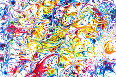 Fluxo do arco-íris imagem de stock