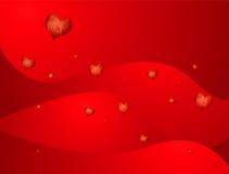 Fluxo do coração do amor ilustração royalty free