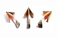 Fluxo do dinheiro Foto de Stock