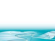 Fluxo do oceano ilustração do vetor